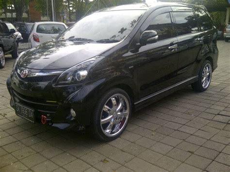 Lu Depan Mobil Avanza Veloz 45 modifikasi mobil avanza veloz putih hitam silver otodrift