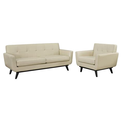 tufted leather sofa set engage 2 pieces leather sofa set tufted beige dcg stores