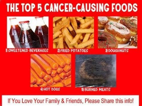 how to not to eat foods not to eat with cancer