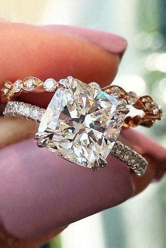 brilliant cushion cut engagement rings wedding
