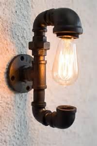 Diy how to make pipe lamp desk lamps