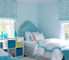 blue girls bedroom with turquoise nailhead headboards and 17 best ideas about turquoise girls bedrooms on pinterest