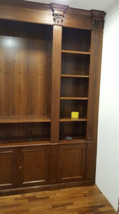libreria in noce costruire una libreria in noce libreria in noce nazionale