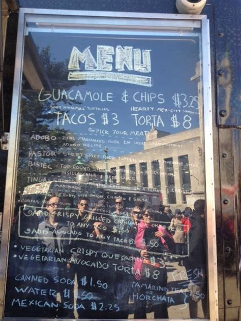 16 best images about food truck menus on