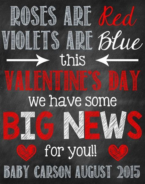 valentines pregnancy announcement s day pregnancy announcement by