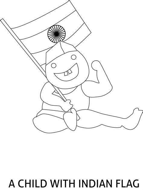 coloring pages of independence day of india republic day of india coloring page
