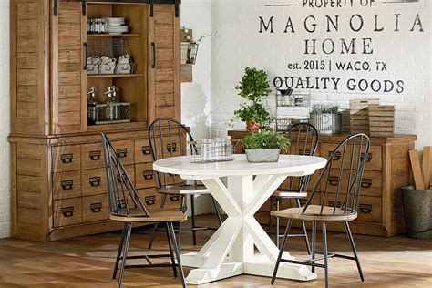 farmhouse dining dining kitchen magnolia home