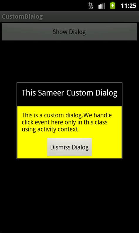 tutorial android dialog android development news exle tutorial source code