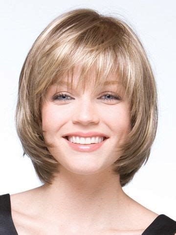 how to get a softly rounded bob hairstyle softly layered bob front view voguewigs com suitable