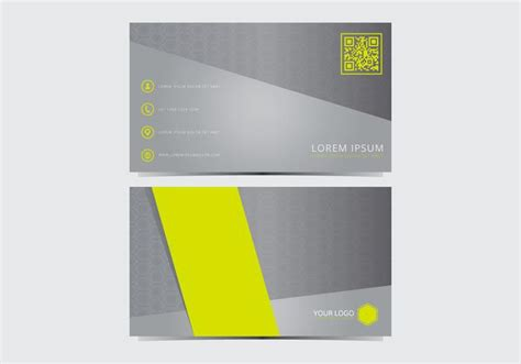 2 x 31 2 business card template stylish business card template free vector
