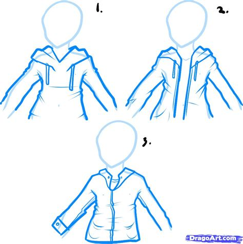 hoodie design drawings how to draw a hoodie draw hoodies step by step fashion