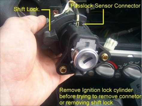 [how to remove ignition switch from a 2009 bmw x6