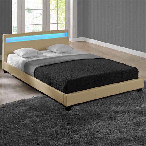 Bed 180 X 200 led upholstered bed 140 160 180 200x200 cm bed wedding bed frame ebay