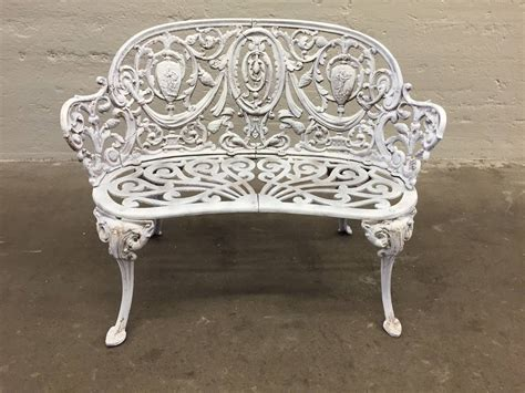vintage benches for sale antique cast iron garden bench for sale at 1stdibs