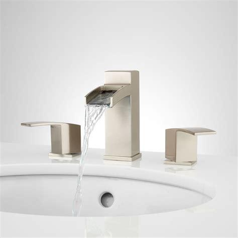 morata widespread waterfall bathroom faucet bathroom