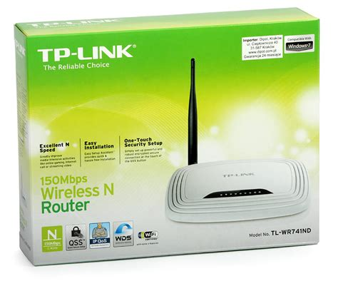 Router Tp Link Tl Wr741nd access point tp link tl wr741nd w router 4p switch 150mb s 802 11n