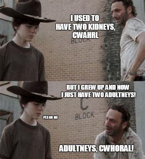 Walking Dead Meme Generator - best 25 walking dead coral meme ideas on pinterest