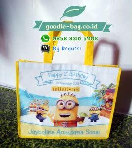 Souvenir Ultah Tahun Tas Ultah Anak Goodiebag Renda Litle Pony tas souvenir ultah anak minions tas ulang tahun murah
