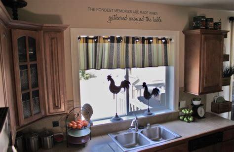 ideas para cocinas muy peque as cortinas para cocinas dise 241 os r 250 sticos modernos