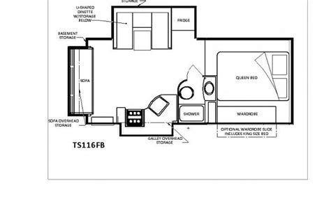Rv Chalet Plans by Chalet Ts116fb Cer Chalet Rv Cers Rv
