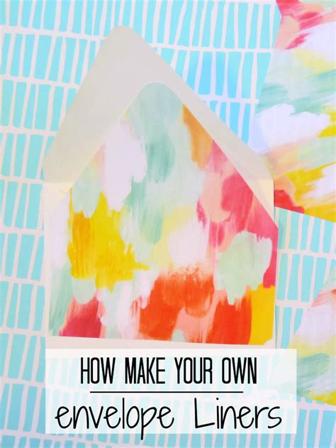 how to make your own envelope liners celebrations blog the easiest way to make envelope liners baby shower