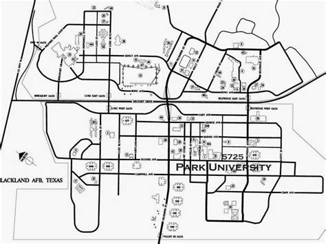 lackland afb map lackland map