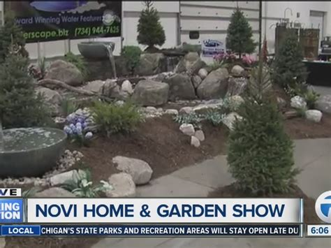 novi home garden show taking place this weekend inside