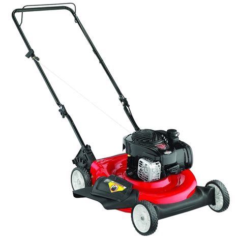 yard machines 21 in 140 cc gas walk lawn mower 11a