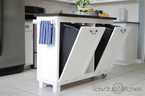 DIY Kitchen Island made from a $5 garage sale cabinet!