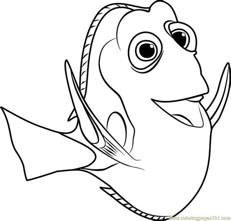 coloring pages nemo and dory dory coloring page free finding dory coloring pages