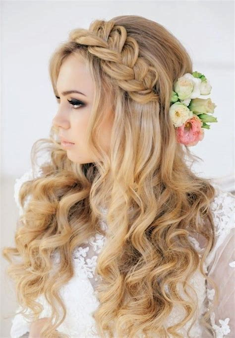 35 wedding hairstyles discover next years top trends for 20 ideas of brides long hairstyles