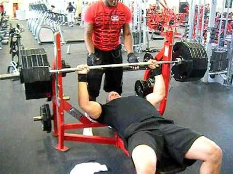 bench press 500 500 raw bench press youtube