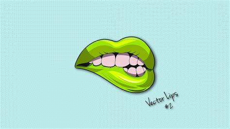 Design Vector Logo Illustrator | illustrator tutorial lips logo design vector
