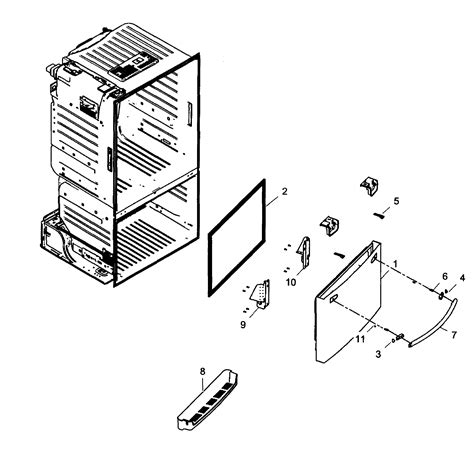 samsung refrigerator parts model rf323tedbsraa0001 sears partsdirect