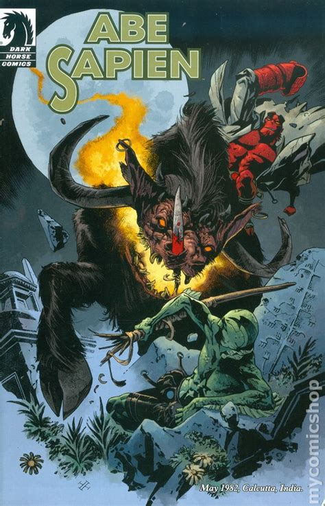 abe sapien dark and b076zsgcnk abe sapien dark and terrible 2013 dark horse comic books