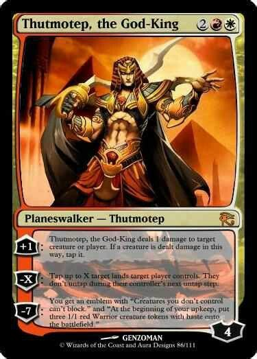 arena of the planeswalkers colorless card template planeswalker magic l assembl 233 e cr 233 ations