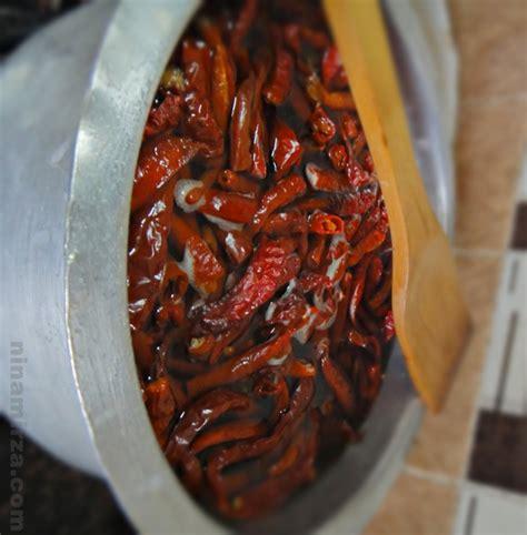 tips senang rebus cili masak sambal sedap mudah