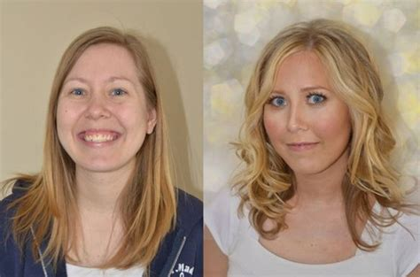 7 Amazing Inside Out Makeovers by The Power Of Hair And Makeup Before And After Glamourosity