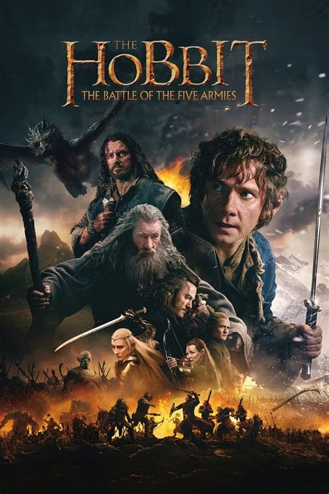 1470623617 the hobbit the battle of the hobbit the battle of the five armies 2014 posters