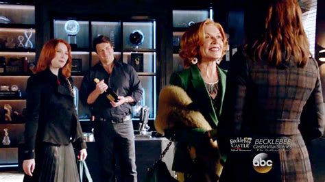 castle alexis season 8 castle 8x08 opening scene martha alexis and hayley in p i