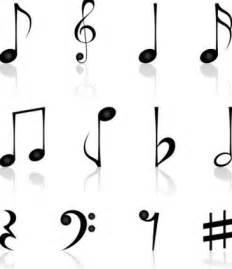 imagenes de notas musicales en forma de corazon tatuajes de notas musicales tendenzias com