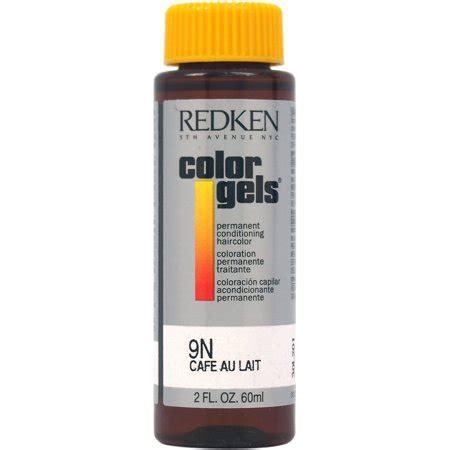 redken color gels permanent conditioning haircolor 9n