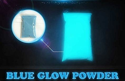 how to mix glow in the powder with paint blue glow powder top painting supplies