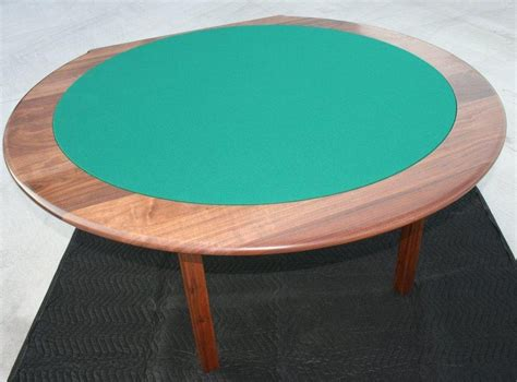 pair  classic oval tilt top tables  solid cherry