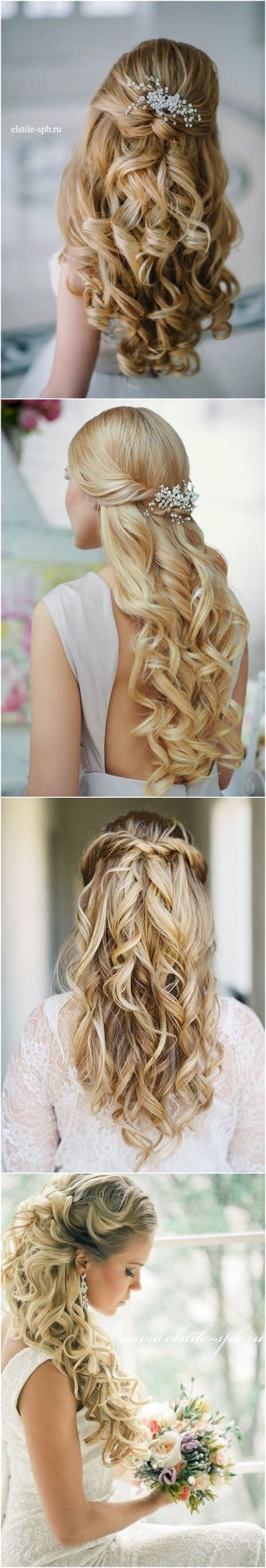 Bridal Hair Half Up Tutorial by Best Hair Style For 40 Stunning Half Up Half