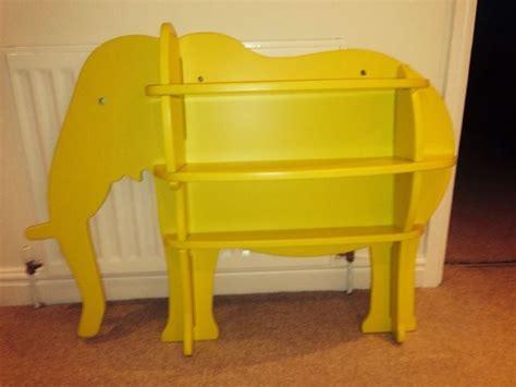 habitat yellow elephant shelf bookcase
