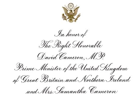 Wedding Announcement Protocol by How To Get Invited To A State Department Luncheon