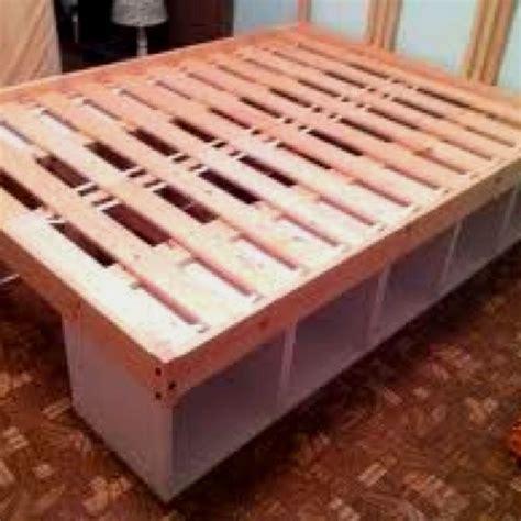 Building A Bed Frame With Drawers Best 25 Bed Frame Storage Ideas On Pinterest Platform Bed Storage Diy Bed Frame And Platform