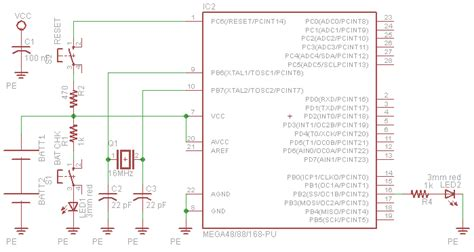 decoupling capacitor atmega avr critique on my schematic electrical engineering stack exchange