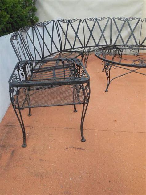 woodard patio set chantilly pattern 11 pieces